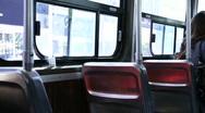 Jm971 Streetcar Seats Stock Footage