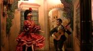 Automaton Spanish Dancer Stock Footage