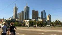Streets of Melbourne Stock Footage