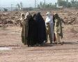 Afghan Women in Burqas Footage