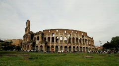 Colosseum - Rome - Italy Stock Footage