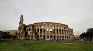 Stock Video Footage of Colosseum - Rome - Italy