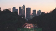 Stock Video Footage of Los Angeles Time Lapse