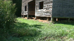 Cades Cove Large Barn 1 Stock Footage