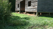 Stock Video Footage of Cades Cove Large Barn 1