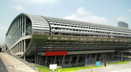 Stock Video Footage of Canton Fair Exhibition Grounds