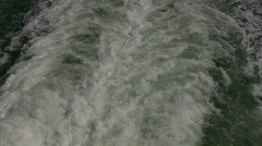 Jet stream from a boat Stock Footage