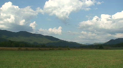 Cades Cove Meadow 2 Stock Footage