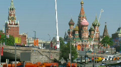 Victory parade on 9th of May in Moscow Stock Footage