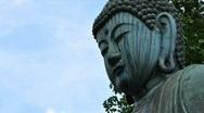 Japanese Buddha Time Lapse Stock Footage