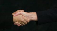 Handshake Stock Footage