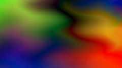 Colorful video art Stock Footage