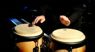 Congo drums Stock Footage