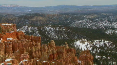 Bryce Canyon Land Pan  - stock footage