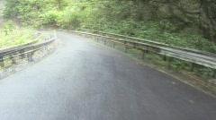 POV, drive to Hana time lapse Stock Footage