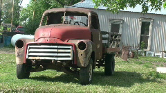Old farm truck Stock Footage