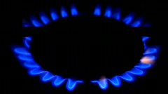 Town gas Stock Footage