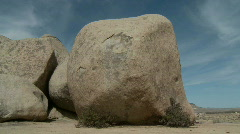 Time Lapse of Clouds and Desert Rocks - Clip 2 Stock Footage