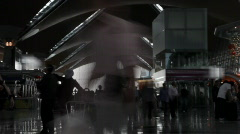 Airport timelaps 3 light Stock Footage