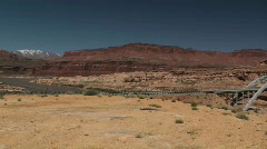 Southwestern desert Stock Footage