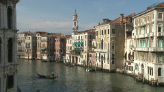 Grand Canal in Venice, Italy in Europe Stock Footage