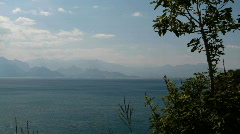 Bay of Antalya Stock Footage