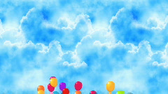 Balloon Goes Up HD - stock footage