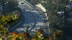Light Traffic Los Angeles 01 HD - stock footage