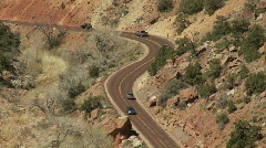 Time Lapse of Traffic in National Park - Clip 3 Stock Footage