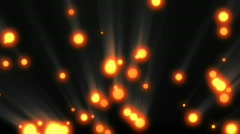 Cosmic particles with shine Stock Footage
