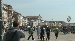 San Marco Saint Mark's Square in Venice, Italy Stock Footage