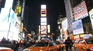 Stock Video Footage of Times Square in New York City