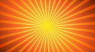 Hot Sunburst Background Stock Footage
