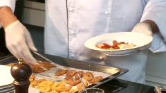 Cook In the Kitchen Stock Footage
