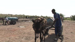 Sudan: Refugee Camps  Stock Footage