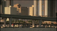 Stock Video Footage of Miami Skyline Eraticam