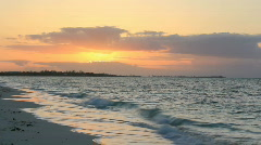 Sunrise on Grand Bahama Island - stock footage