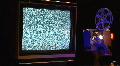 Analog TV Screens CU2 Footage