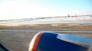Takeoff. Climb. Stock Footage