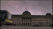 Stock Video Footage of Royal Palace Brussels