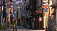 Stock Video Footage of Tokyo Street 14