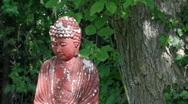 Buddah Garden Ornament Stock Footage