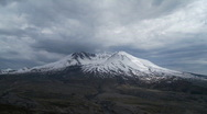 Stock Video Footage of Mt St Helens time lapse