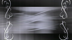 Write on Abstract shades of Gray Looping Background Stock Footage