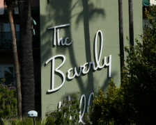 Beverly Hills Hotel PAL Stock Footage