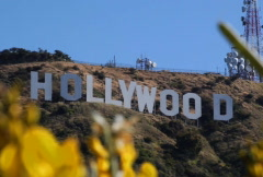 Hollywood Sign 02 NTSC - stock footage
