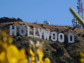 Hollywood Sign 02 NTSC Stock Footage