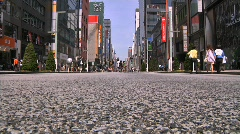 Ginza Tokyo Street during the Golden Week in 2010 27 Stock Footage