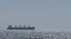 Oil Tanker - stock footage