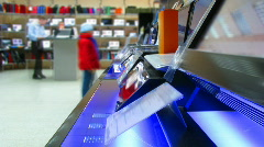Electronics store 1 - stock footage